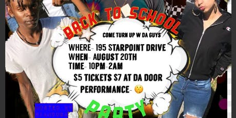 Back to School Party tickets