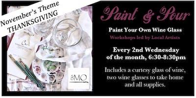 Paint & Pour | Thanksgiving