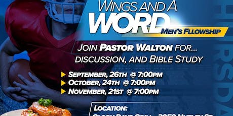 Wings and a Word --- November tickets