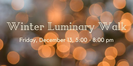 Winter Luminary Walk