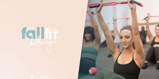 Pure Barre Raleigh Fall Fit Challenge Kick-Off at Lululemon!