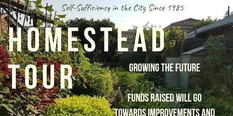 Urban Homestead Tour - September tickets