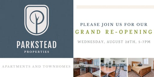 Parkstead Properties Grand Re-Opening Event