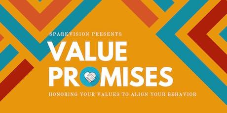 Value Promises Workshop - September 21st 2019 tickets
