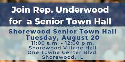 Shorewood Senior Town Hall with Rep. Underwood
