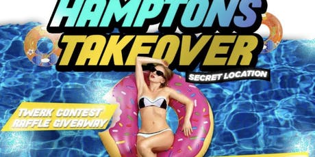Hamptons  pool party tickets
