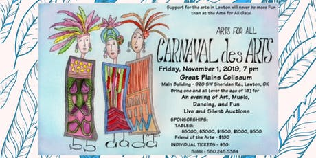 Carnaval des Arts Gala presented by Arts For All, Inc. tickets