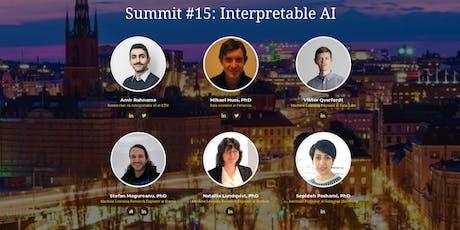 Stockholm AI Summit #15 | AI interpretability - talks and panel discussion tickets