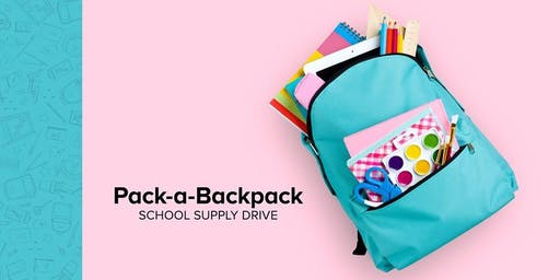 Pack-a-Backpack School Supply Drive at Westgate Mall