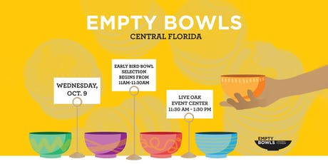 Empty Bowls: Central Florida tickets
