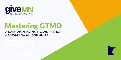 Minnetonka (West Metro) | GTMD Campaign Planning Workshop & Coaching tickets