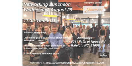Raleigh August 28th Networking Lunch tickets
