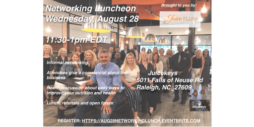 Raleigh August 28th Networking Lunch