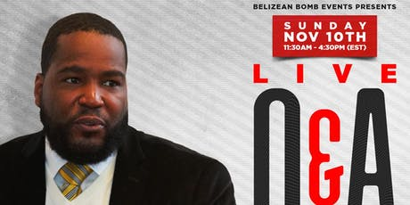 Live Q&A With Dr. Umar Johnson in Brooklyn, NY tickets