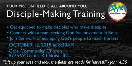Disciple Making Training tickets