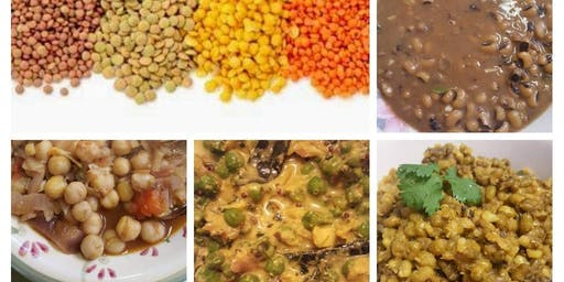 Indian Vegan Cooking Class Toronto - Protein Packed Pulses (beans, peas and lentils)