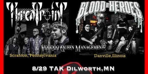Threatpoint and Blood Of Heroes Tour