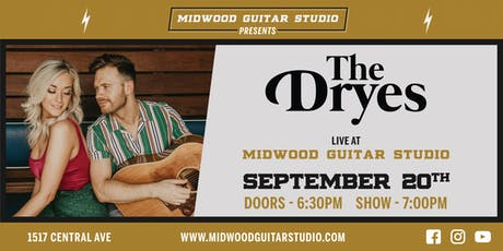 The Drye's at Midwood Guitar Studio tickets