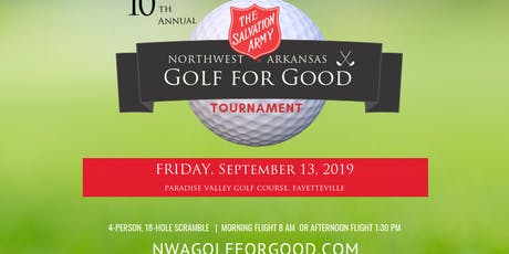 Golf for Good Tournament tickets