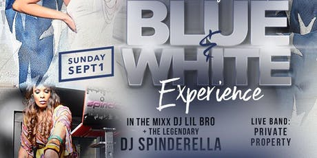 NEO SOUL SUNDAYS at BLUE MARTINI [BLUE & WHITE -- LABOR DAY WEEKEND EDITION] tickets