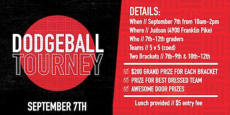 Dodgeball Tourney 2019 tickets