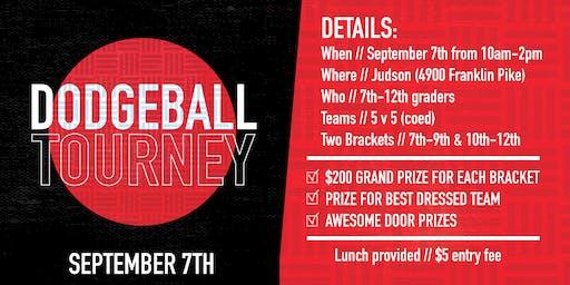 Dodgeball Tourney 2019