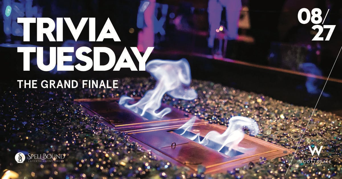 Trivia Tuesday: The Grand Finale