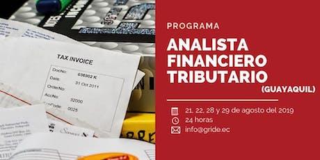 ANALISTA FINANCIERO TRIBUTARIO tickets