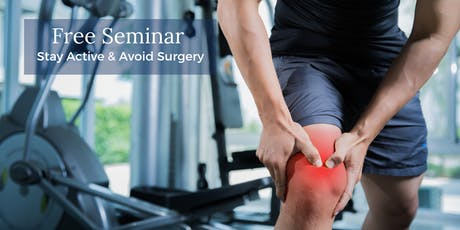 Stay Active & Avoid Surgery: Regenexx Kansas City Seminar Aug 20 tickets