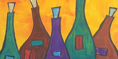 Paints & Pints at Baguettes!