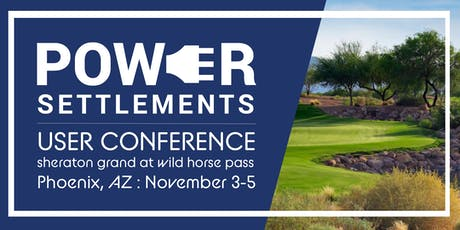 Power Settlements User Conference tickets