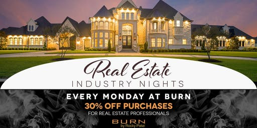 Real Estate Professional Nights at BURN