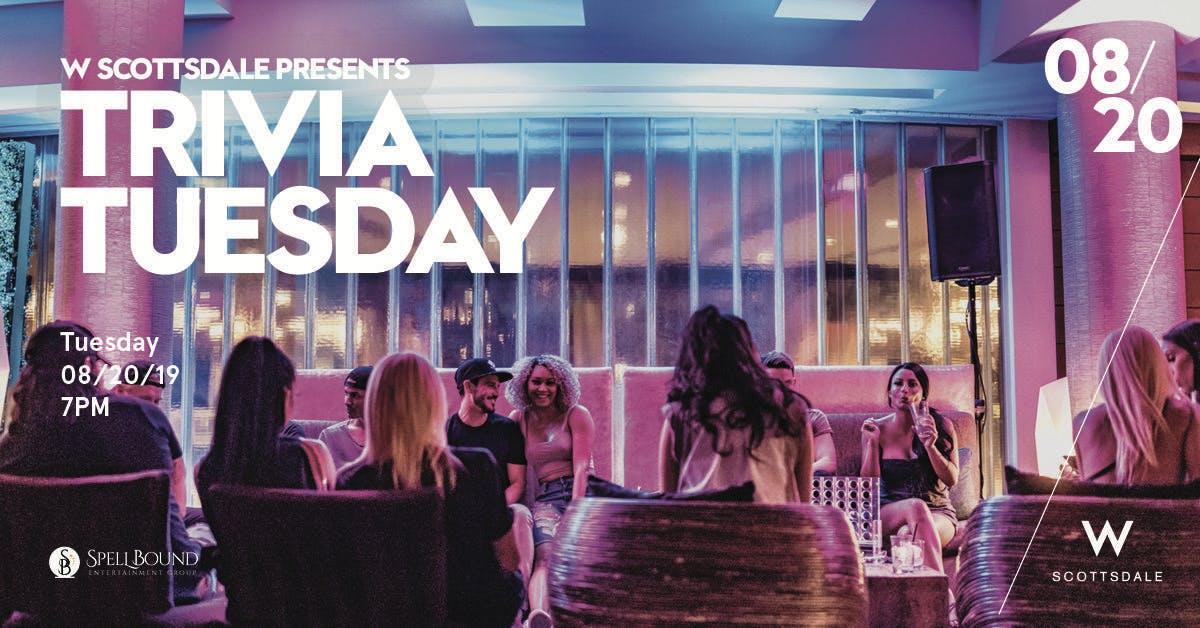 Trivia Tuesday - 8/20