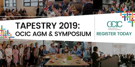 TAPESTRY 2019: OCIC AGM & Symposium tickets