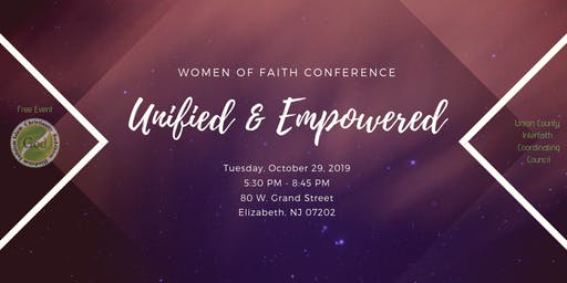 "Women of Faith Conference ""Unified and Empowered"""