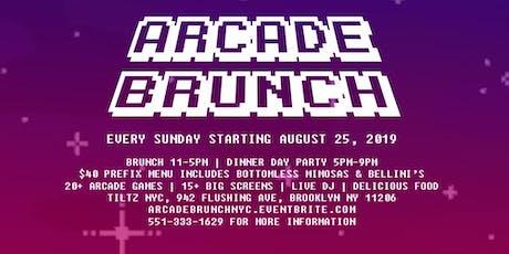 The Arcade Brunch tickets