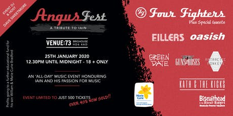 AngusFest -  a tribute to Iain and his passion for music. tickets