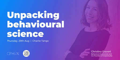 Unpacking Behavioural Science