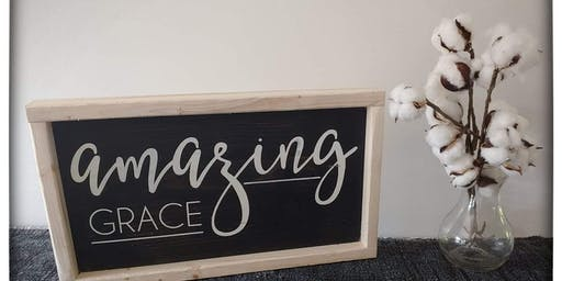 DIY Wooden Sign & Introduction to Chalk Paint