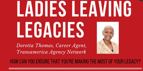 Ladies Leaving Legacies Session 2: Life Insurance Awareness Month tickets