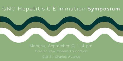 Greater New Orleans Area Hepatitis C Elimination Symposium