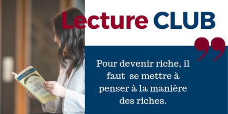 LectureCLUB : Les secrets d'un esprit millionnaire tickets