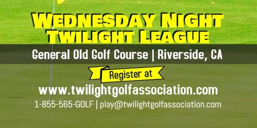 Wednesday Twilight League at General Old Golf Course