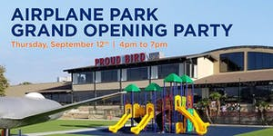 Proud Bird Airplane Park Grand Opening