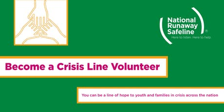 NRS Volunteer Orientation: Become a Crisis Line Volunteer! tickets