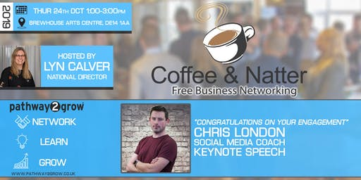 Burton Coffee & Natter - Free Business Networking Thurs 24th Oct 2019