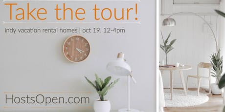Host's Open [Indy Airbnb Home Tour 2019] tickets