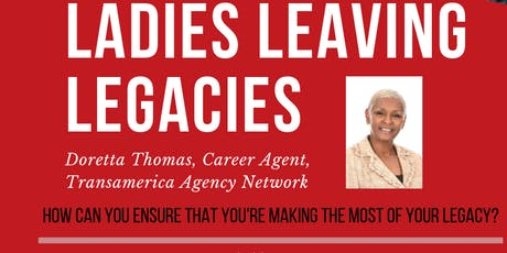 Ladies Leaving Legacies Session 3: Long Term Care Awareness Month tickets