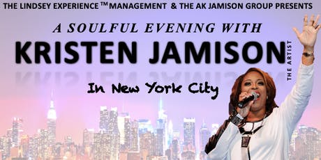 A Soulful Evening with Kristen Jamison in New York City tickets