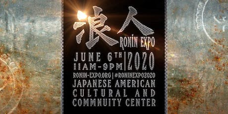 Ronin-Expo 2020 tickets